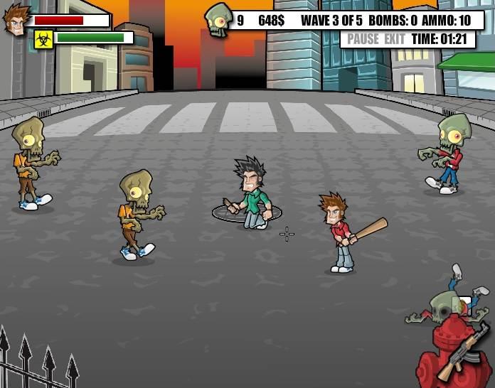 Играть в zombie survival онлайн